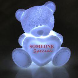(Português) Luminária Led – Urso